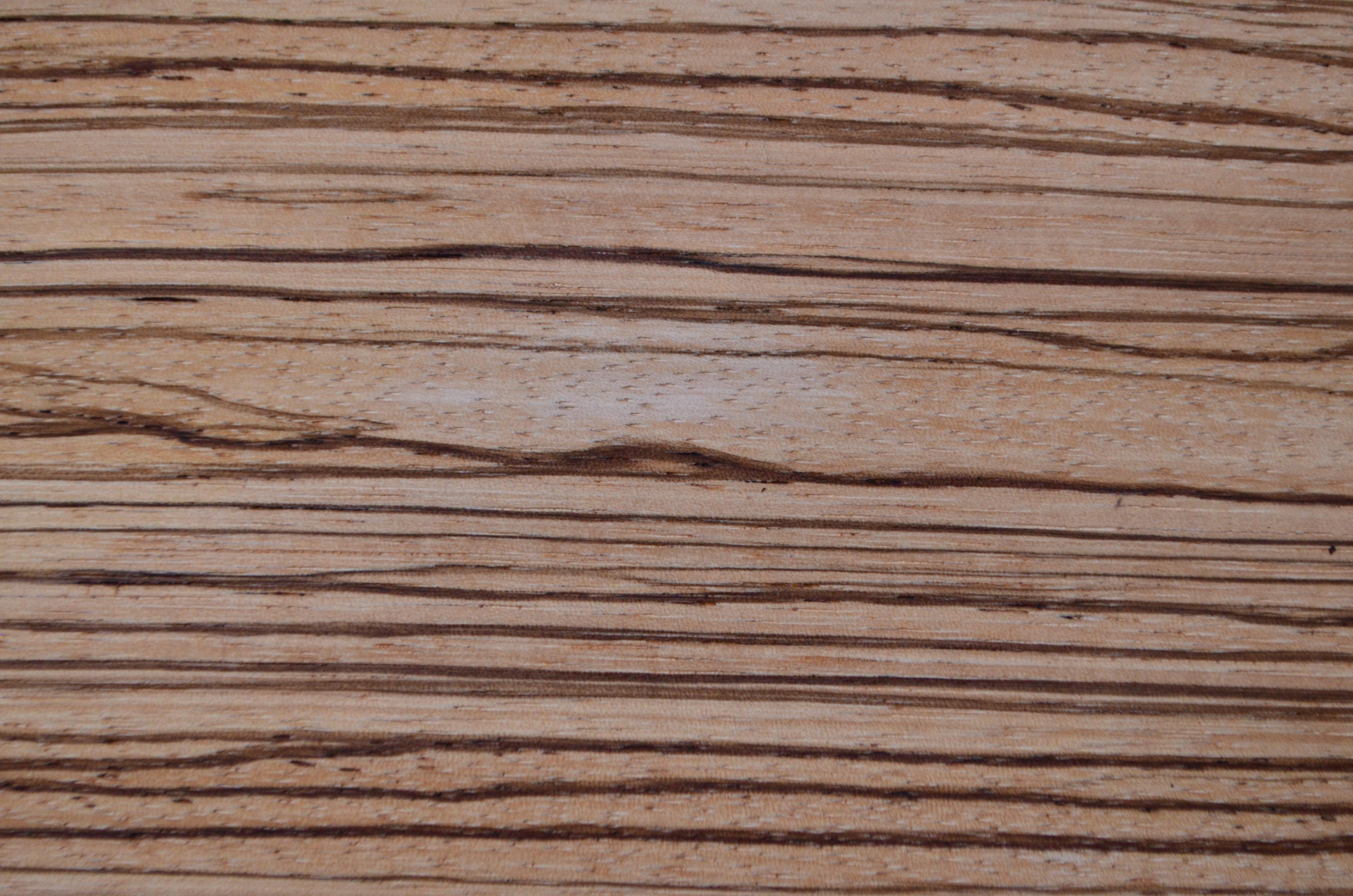 Kuchnie Drewniane Zebrano Naturalny Fornir I Drewno